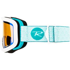 Rossignol W's Ace HP Goggles Flower Aqua/Cylindrical